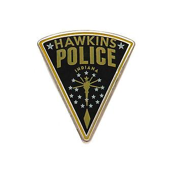 Stranger Things Hawkins Police Enamel Badge