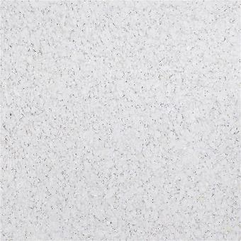 White  3d Foam Silk Plaster, Liquid Wallpaper, Wall Covering  (1kg)