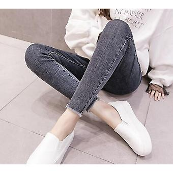 Maternity Jeans For Pregnant Women, Maternity-elastic Waist Pencil Trousers