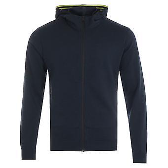 Napapijri Ze-K306 Hooded Sweatshirt - Marine Blue