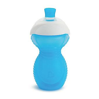 Munchkin click lock chew proof sippy cup 296ml blue