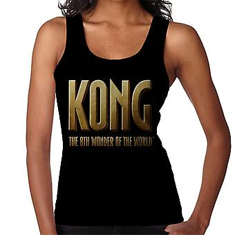 King Kong La 8a Maravilla del Mundo Logo Mujer's Chaleco