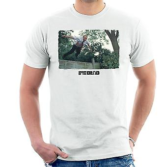 Shaun of the Dead Jumping Over Fence Men's T-Shirt
