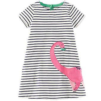 Party-Kleid, Dinosaurier-Design, Kleinkind