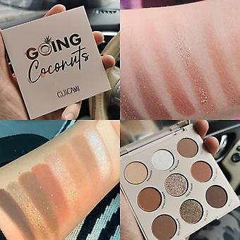 Pigment øjenskygge, Makeup Palette, Vandtæt Glitter, Øjenskygge, Glitre