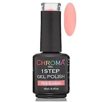 Chroma Gel One Step Gel Polish - Pink Bubbles
