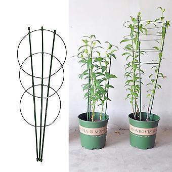 Klatring Vine Rack, Plant Support Frame, Plastic Coated, Stål, Blomst,