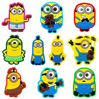 Cartoon Minion Garden Shoes Buckles Accessories Charm Decoration