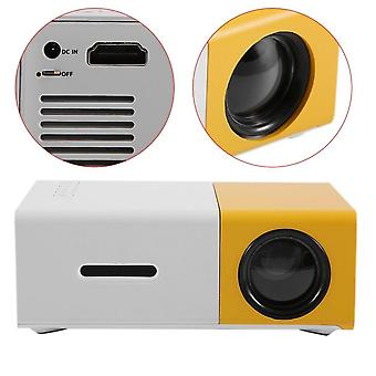 Led Mini High Resolution Ultra Portable Hd Projector, Media Player, Home