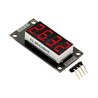 Tm1637 7 Segment Digital Display, 4-siffrigt led-modulkort för Arduino