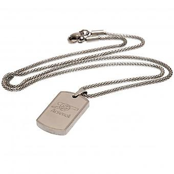 Arsenal Icon Dog Tag & Chain