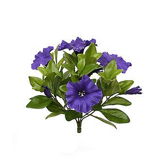 Kunstmatig Petunia boeket 25 cm paars