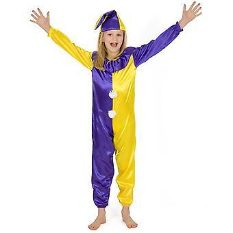 Toyrific disfraces - medio traje de payaso