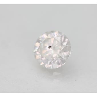 Gecertificeerd 0.73 Karaat D Kleur Ronde Briljant Verbeterde Natuurlijke Diamant 5.63mm 3VG
