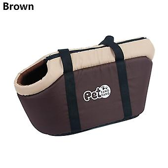Classic Pet Carrier, Portable Cozy, Soft, Puppy Cat, Dog Bags, Backpack