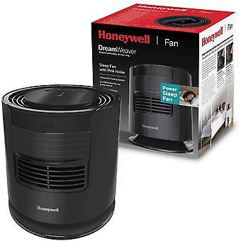 Honeywell 4022167304001 Sleep Fan with Pink Noise, Black