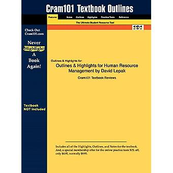 Outlines & Highlights for Human Resource Management by David Lepa