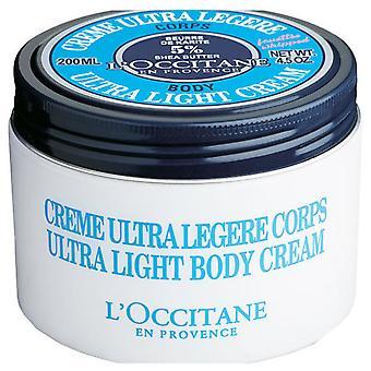 L'Occitane en Provence Crème corporelle ultra-légère au beurre de karité 200 ml