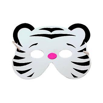 Het witte kind van het tijgermasker