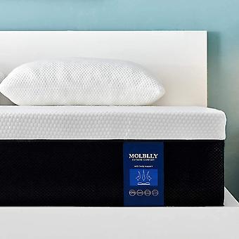 Molblly 7 Zonen Matratze 100 x 200 cm, hrtegrad H3 hochwertige Memoryschaum Matratze, ergonomische