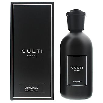 Culti Milano Black Label Stile Diffuser 500ml - Aramara - Sticks Not Included