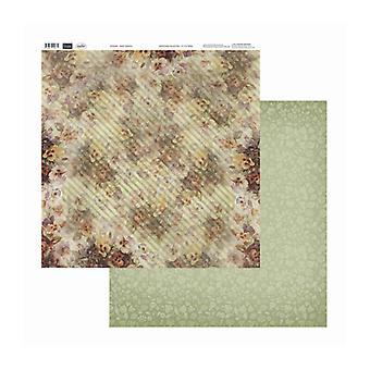 Couture Creations - Pansy Rainfall 12x12 tum Dubbelsidiga förpackningar med 10 ark