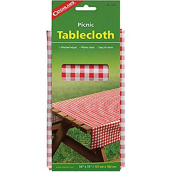 """Coghlan's Picnic Duk, 54"""" x 72"""", Camp Table Cloth Wipes Clean Camping"""