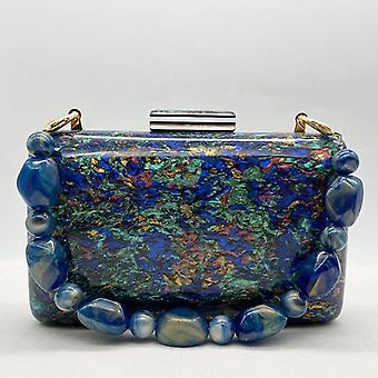 Colorful Acrylic Bags, Clutches Evening Bags, Party Handbags