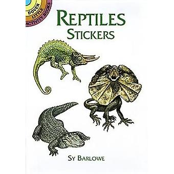 Reptielenstickers van Sy Barlowe