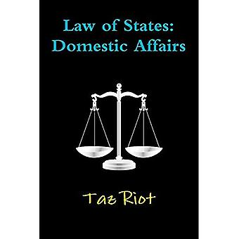 Law of States: Domestic Affairs