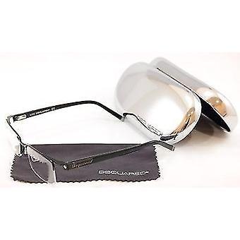 Dsquared2 Briller Ramme DQ5069 002 Svart Metall Plast Høy Kvalitet 53-18-140