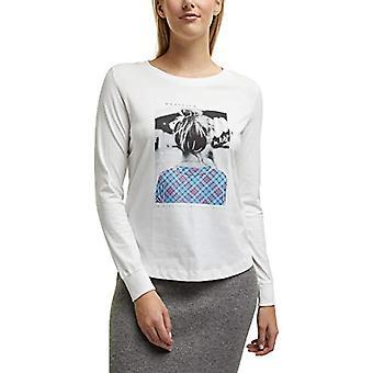 edc by Esprit 100CC1K323 T-Shirt, White (110), S Woman