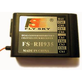 Ricevitore di FlySky 35Mhz 9 ch DC ePCM
