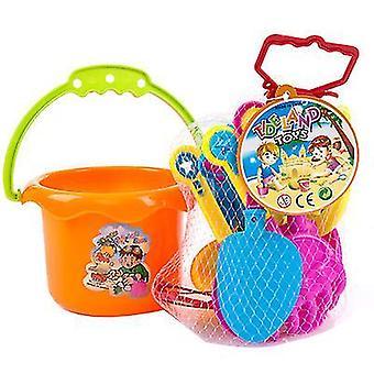 Brinquedos de areia para crianças definem areia roda de água mofostruck balde x518