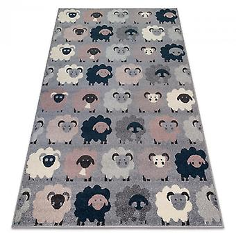 Rug HEOS 78468 grey / blue SHEEPS