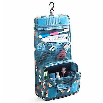New Portable Toiletry Bag Organizer Foldable For Women Polka Dot ES3220