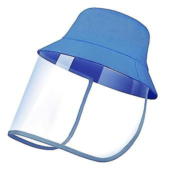 28Cm * 25 سم * 1 سم قبعة الشمس في الهواء الطلق الأزرق للرجال والنساء x5093