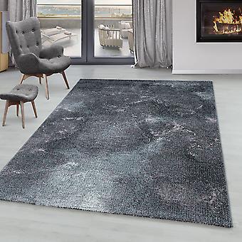 Tappeto del soggiorno ONTARIO Short Pile Soft Clouds Motivo marmoro