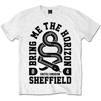 Bring Me The Horizon Snake Mäns X-Large T-Shirt - Vit