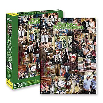 Acuario 500pcs Collage Puzzle
