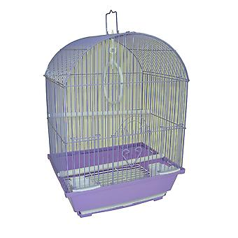 """Yml A1304Wht Round Top Style Small Parakeet Cage, 11 X 9 X 16"""""""