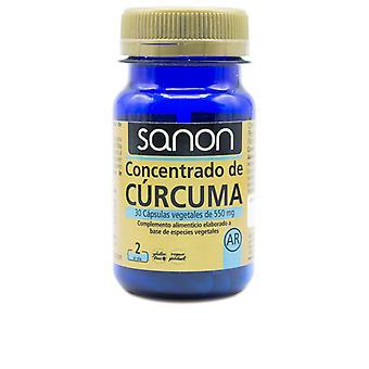 Sanon Sanon Concentrado De Cúrcuma 30 Cápsulas Veganas Unisex