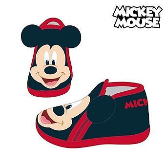 Hausschuhe Mickey Mouse 74130 Schwarz