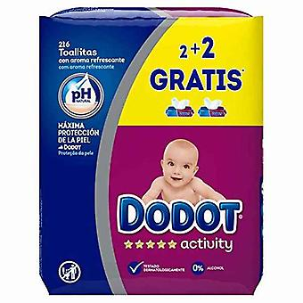 Wipes Activity Dodot 216 uds