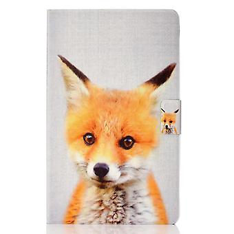 Case For Samsung Galaxy Tab S6 Lite Cover With Auto Sleep/wake Pattern Magnetic - Fox