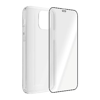 Back Cover for Apple iPhone 12 Pro Max 4Smarts 9H Tempered Glass - Transparent
