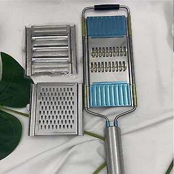 Manual Stainless Steel Grater Kitchen Portable Peeler