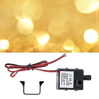 Universal Echte Dc Wasserpumpe 240l/h 12v Mini Ultra Quiet Black Pumpe