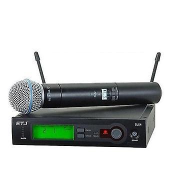 Ammattimainen langaton mikrofonijärjestelmä Super Cardioid