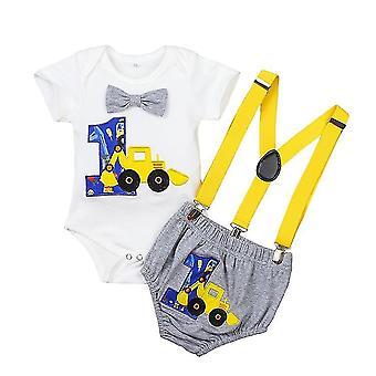Vauvan vaatteet Solmio Romper Hihnat Shortsit Asut